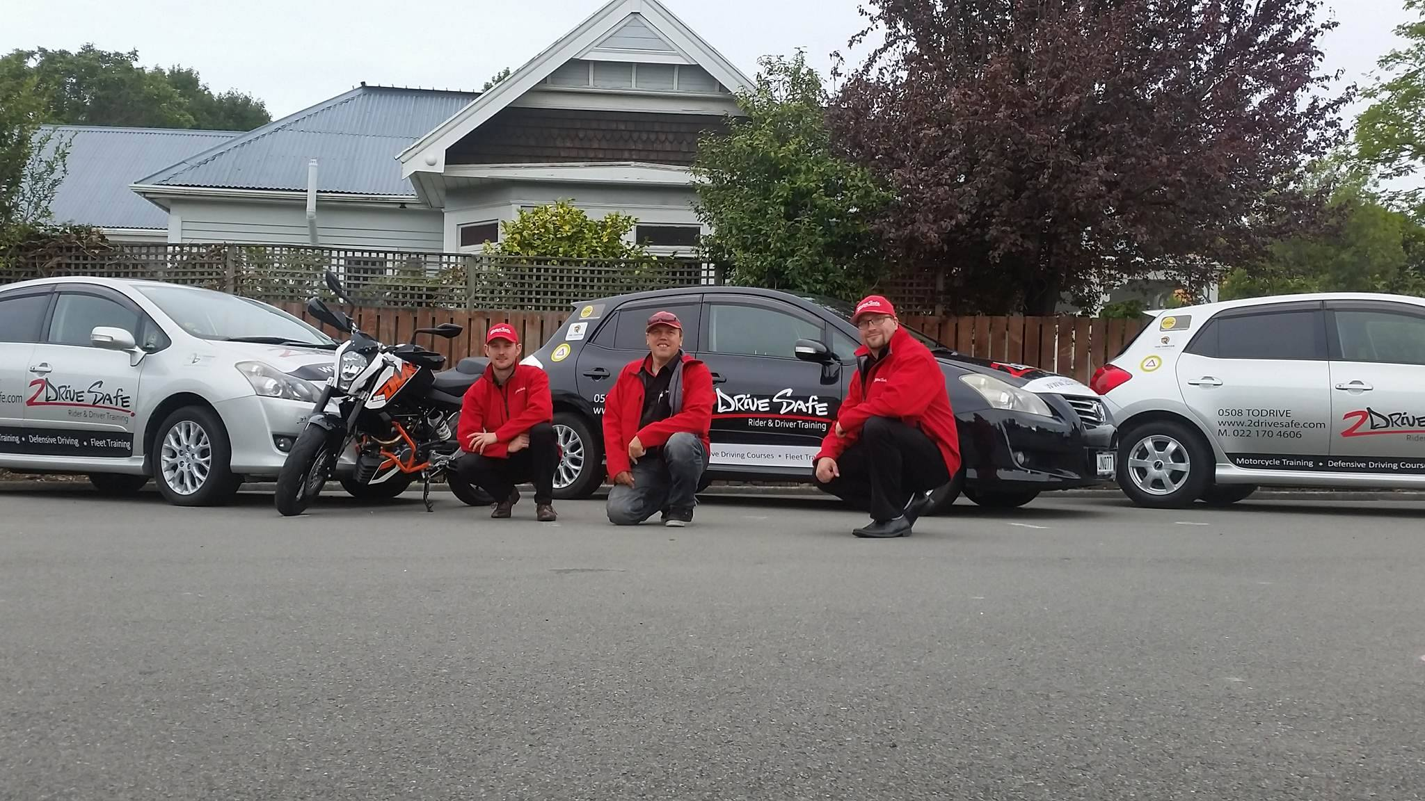 Greymouth Instructors Training 2 Drive Safe